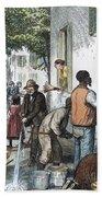 Cholera Epidemic, 1873 Beach Towel