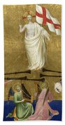 Christ Glorified In The Court Of Heaven Beach Towel