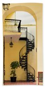Circular Staircase Beach Towel