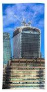 City Of London Beach Towel