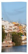 City Of Seville In Spain Beach Towel