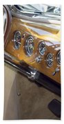 Classic Car Interior Beach Towel