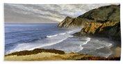 Coastal Beauty Impasto Beach Towel