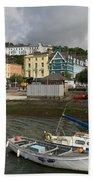 Cobh Town In Ireland Beach Towel