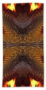 Color Fashion Abstract Beach Towel