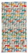 Colorful Blanket Beach Towel