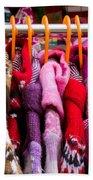 Colorful Coats Beach Towel