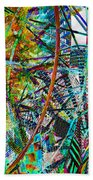 Colors Of Happiness Beach Towel