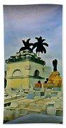 Columbus Cemetary Havana Beach Towel