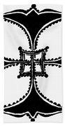 Coptic Cross Beach Towel