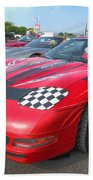 Corvette Z06 Beach Towel