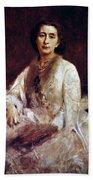 Cosima Wagner (1837-1930) Beach Towel