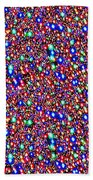 Cosmic Star Sparkles Spectrum Abstract Art By Navin Joshi Created Out Of Christmas Lights Gifts And  Beach Towel