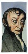 Count Amedeo Avogadro (1776-1856) Beach Sheet
