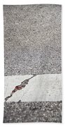 Cracked Beach Towel by Margie Hurwich