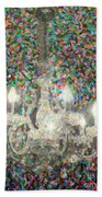 Crystal Chandelier Beach Towel