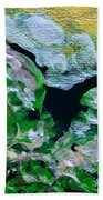 Crystal Reef Beach Towel