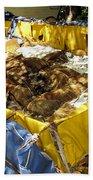 Cuban Refugee Boat 5 Beach Towel