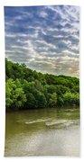 Cumberland River Beach Towel