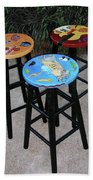 Custom Barstools Beach Towel