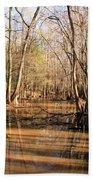 Cypress Waterway Beach Towel
