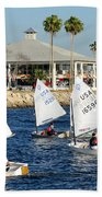 Davis Island Yacht Club Beach Towel
