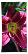 Day Lily 2 Beach Towel