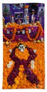 Day Of The Dead Altar, Mexico Beach Towel