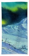 Denali Night Beach Towel