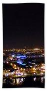 Derry At Night Beach Towel