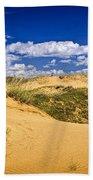 Desert Landscape In Manitoba Beach Towel
