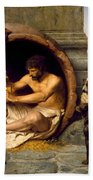 Diogenes Beach Towel