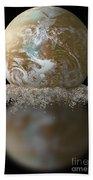 Dissolving Earth Beach Towel