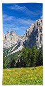 Dolomites - Catinaccio Mount Beach Towel