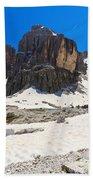 Dolomites - Pisciadu Peak Beach Towel