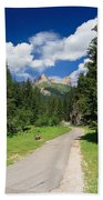 Dolomiti - Fassa Valley Beach Towel