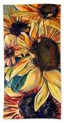 Dooley's Sunflowers Beach Towel