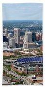 Downtown Baltimore Beach Towel