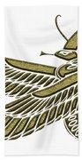 Dragon - Demon Of Ancient Egypt Beach Towel