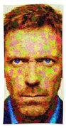 Dr. House - Maple Leaves Beach Towel