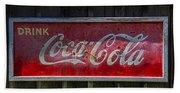 Drink Coca Cola Beach Towel