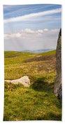 Druids Stone Circle Beach Sheet