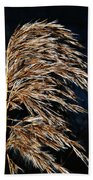 Dry Grass Beach Towel