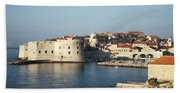 Dubrovnik In Croatia Beach Towel