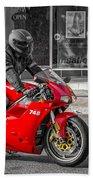 Ducati 748 Beach Towel
