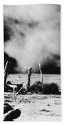 Dust Bowl, 1935 Beach Towel