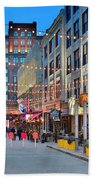 East Fourth Street In Cleveland Beach Towel