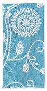 Embroidery Beach Towel