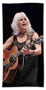 Emmylou Harris Beach Towel