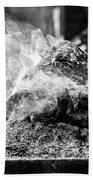 Encens Burning Beach Towel
